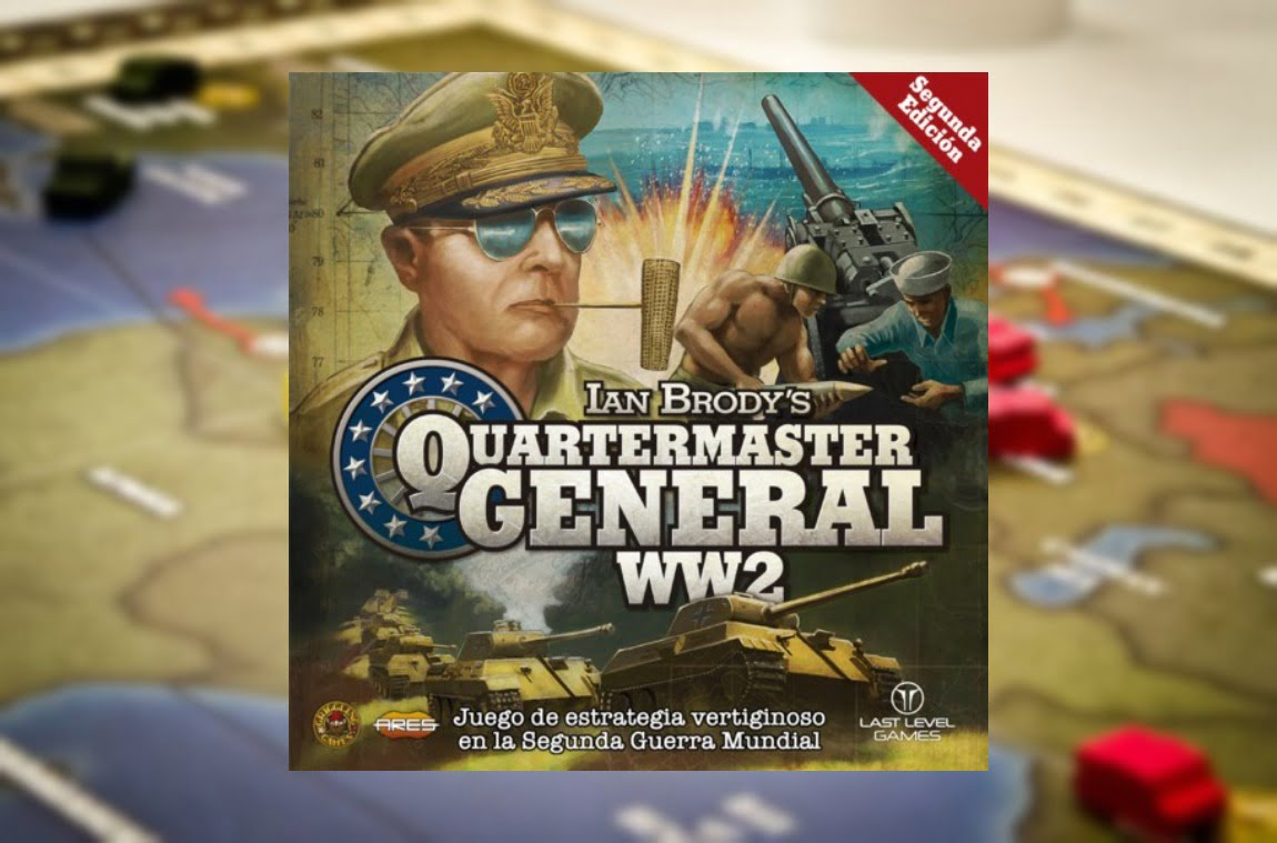 quartermaster general juego de mesa