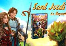 Sant Jordi la leyenda juego de mesa