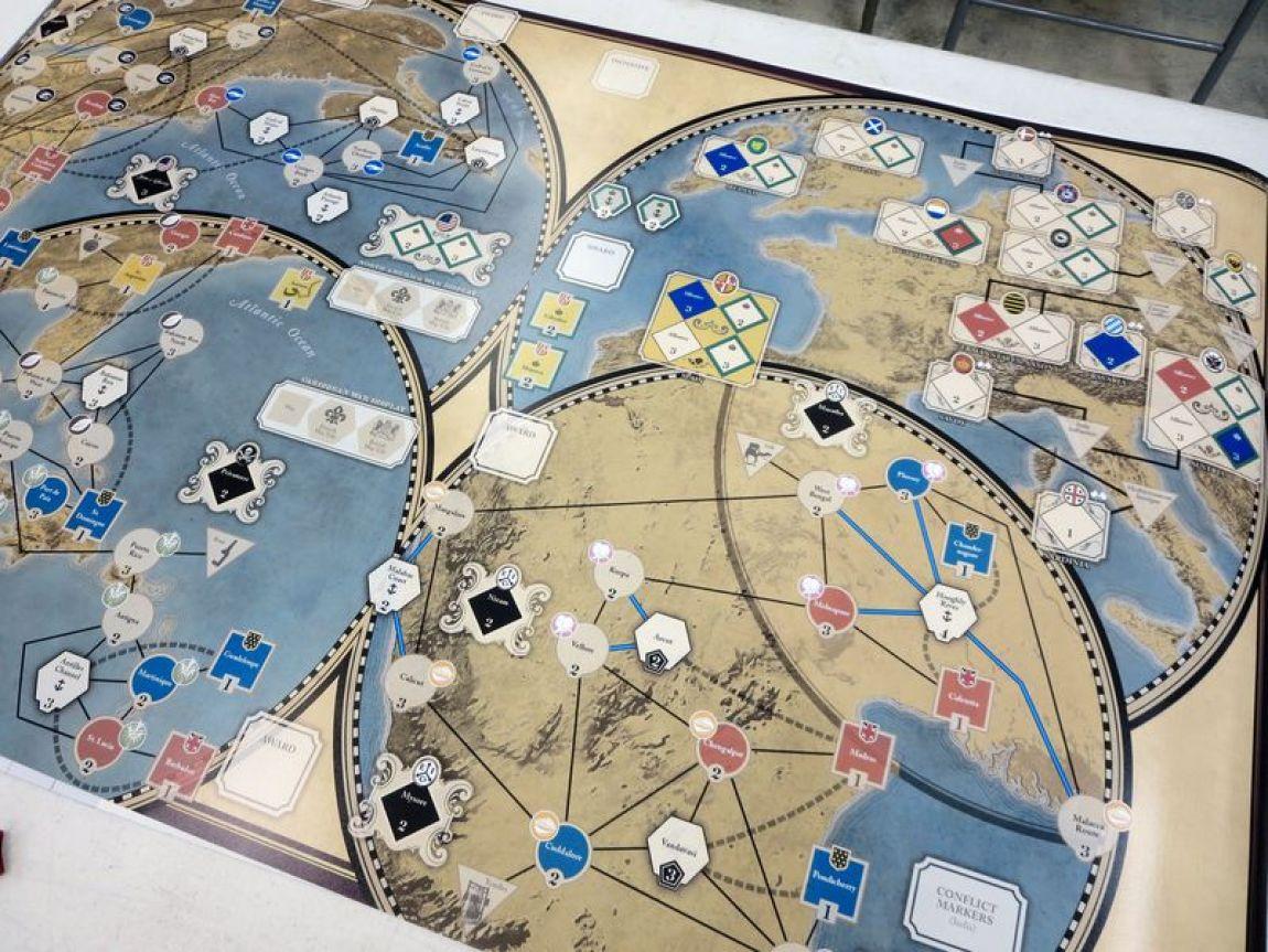 imperial struggle juego de mesa