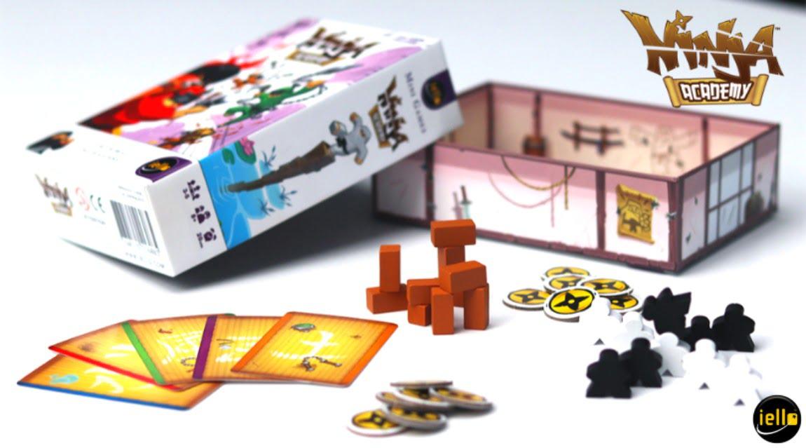 Academia Ninja juego de mesa
