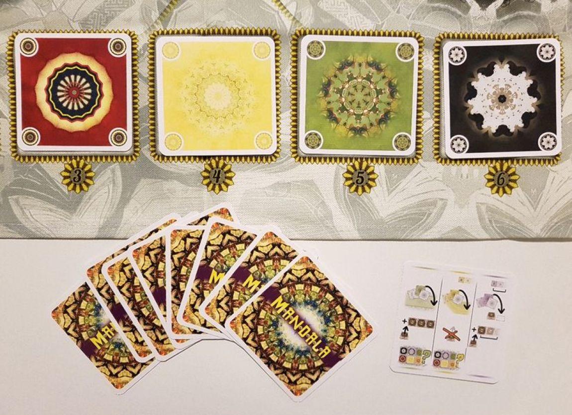 Mandala juego de mesa