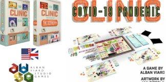 Clinic Deluxe Edition Covid-19 juego de mesa