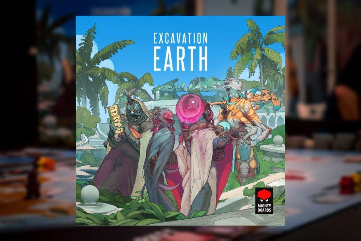 Excavation Earth Juego de mesa