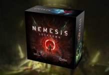 Nemesis Lockdown juego de mesa