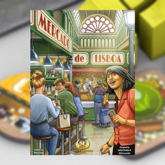 Mercado de Lisboa juego de mesa