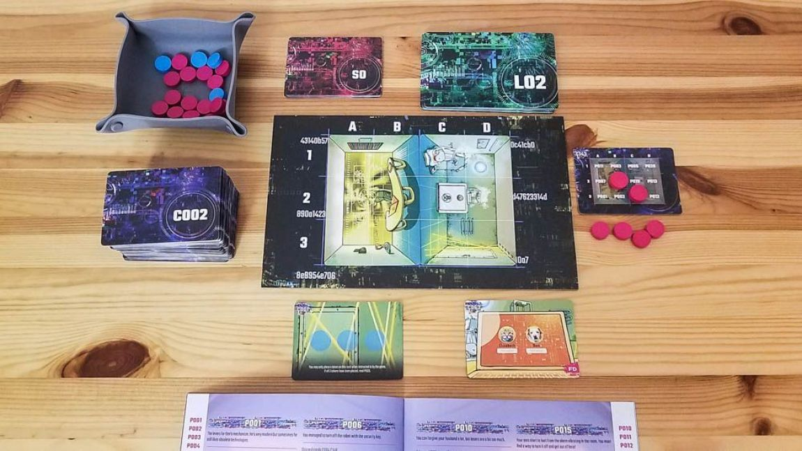 Escape Tales Sin Memoria juego de mesa