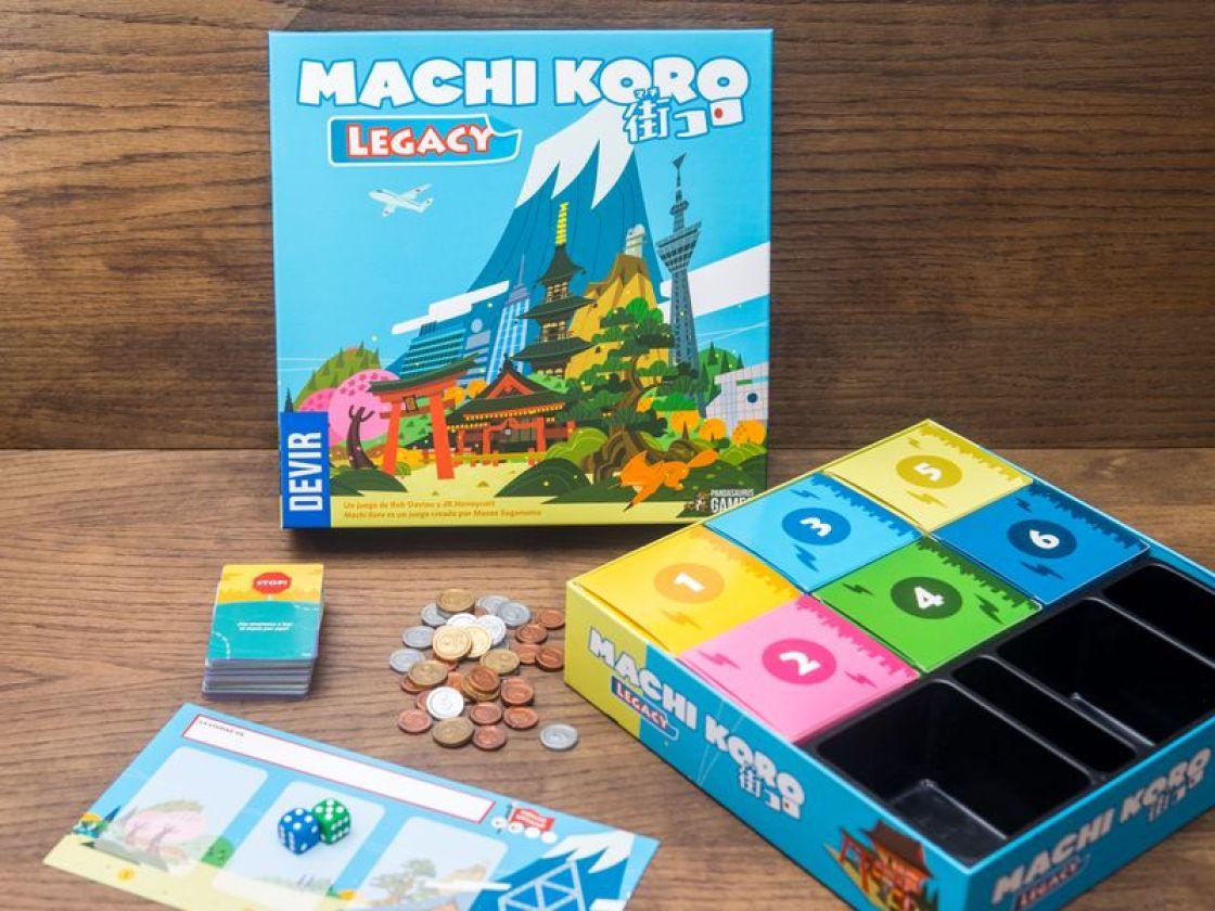 Machi Koro legacy juego de mesa