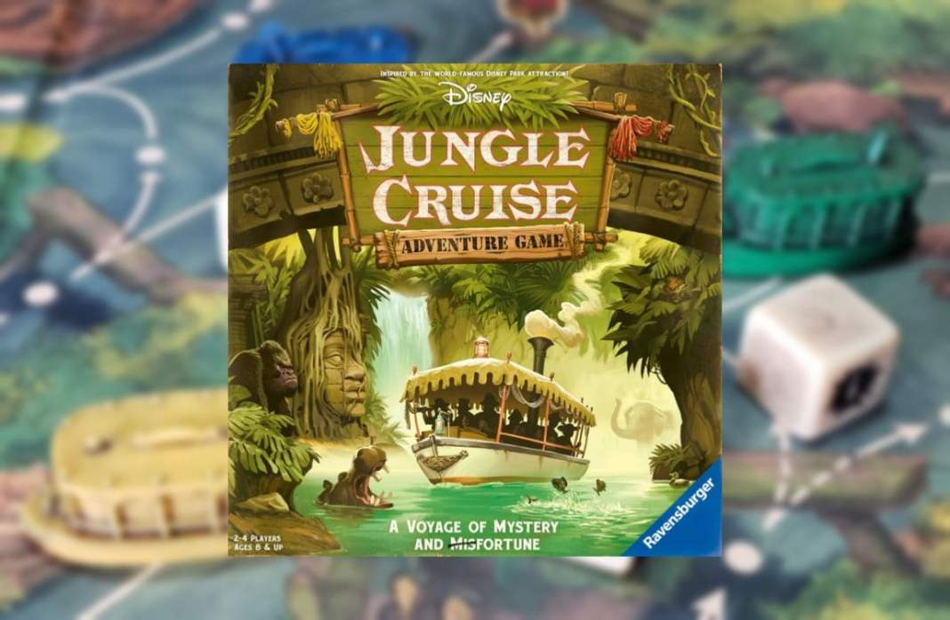 Disney Jungle Cruise Adventure Game