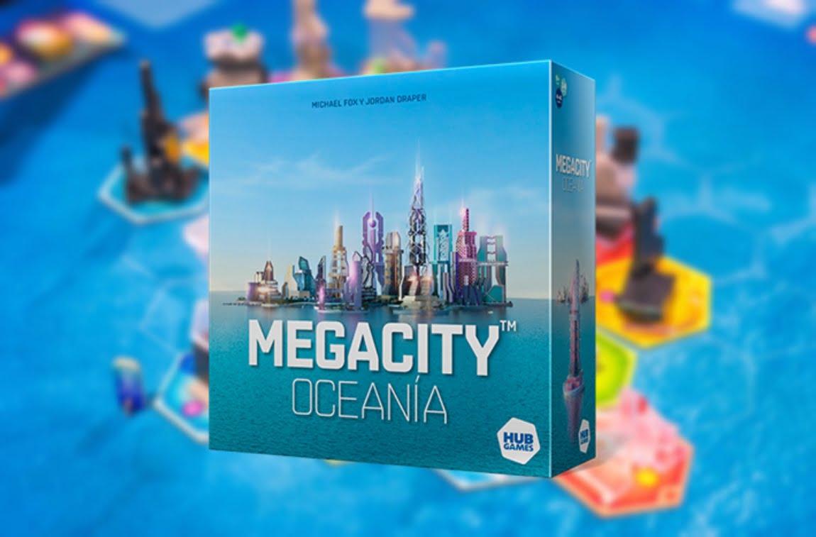 megacity oceania juego de mesa