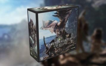 Monster Hunter World juego de mesa