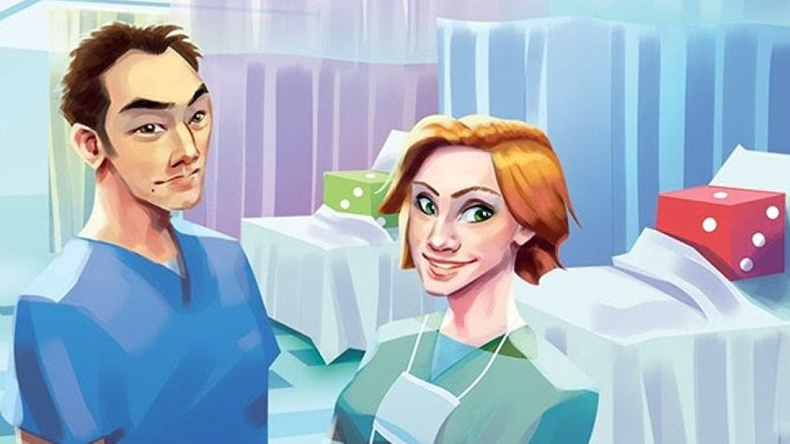 Dice Hospital: Emergency Roll juego de mesa