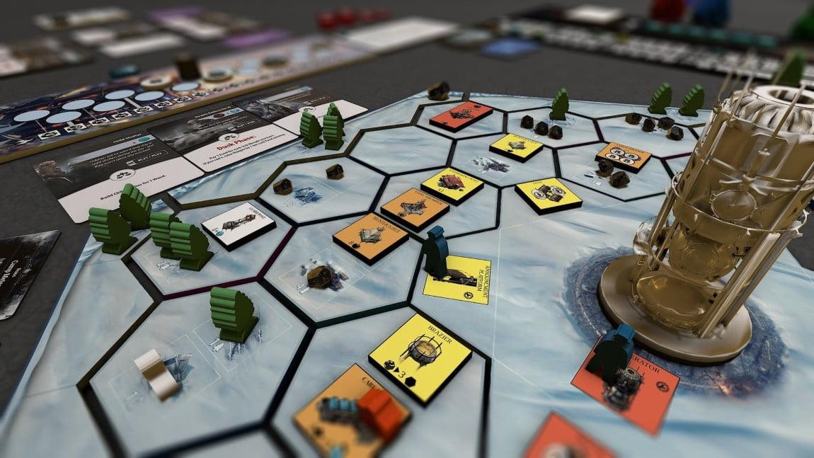 Frostpunk juego de mesa