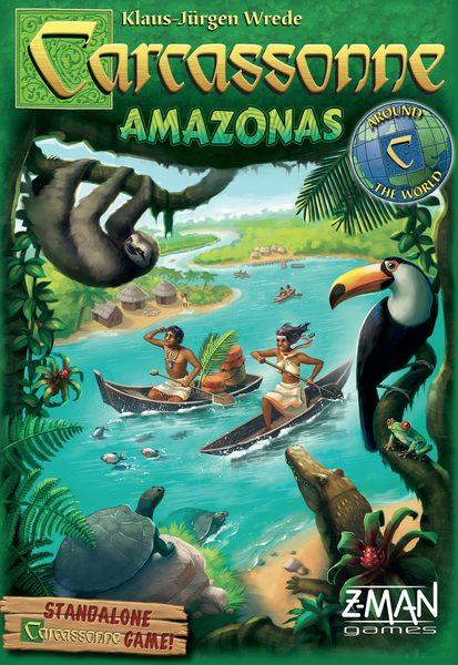 Carcassonne Amazonas juego de mesa