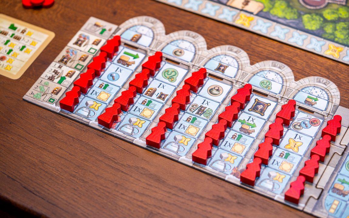 Monasterium juego de mesa