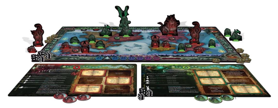 Cthulhu Wars Duel juego de mesa