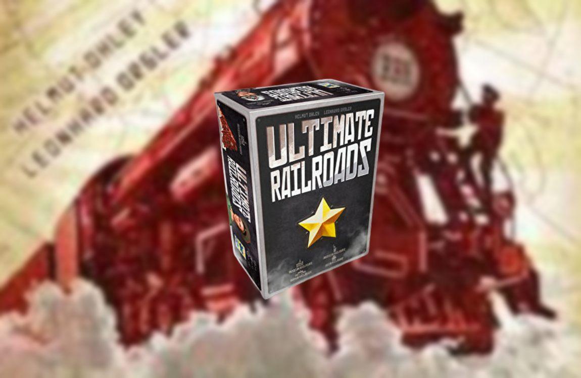 Ultimate Railroads juego de mesa