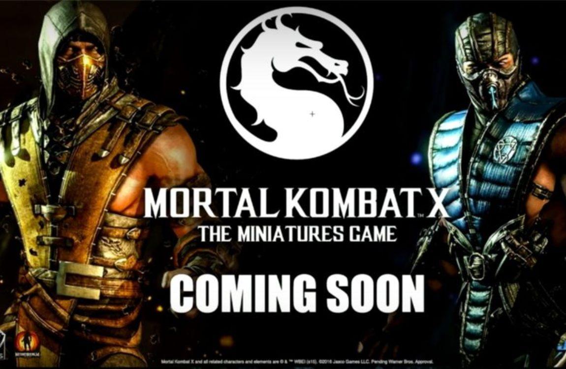 Mortal Kombat X juego de mesa