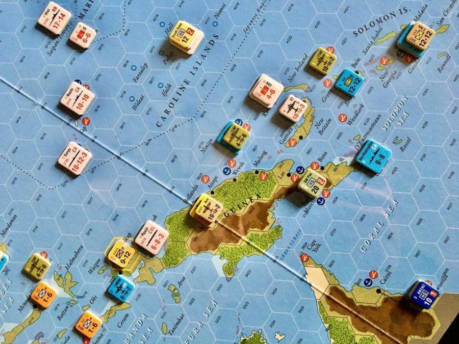 El Imperio del Sol juego de mesa
