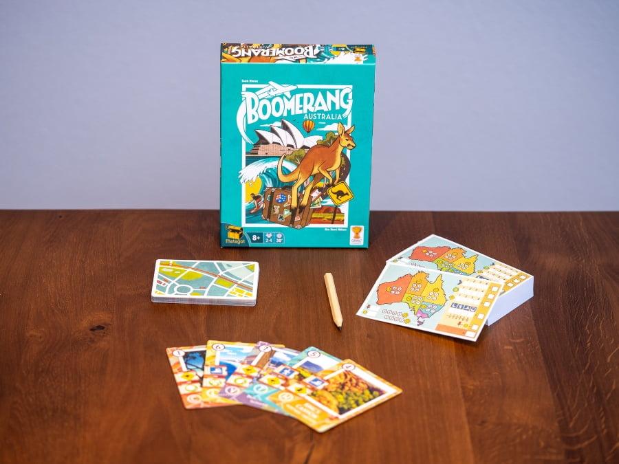 Boomerang australia juego de mesa