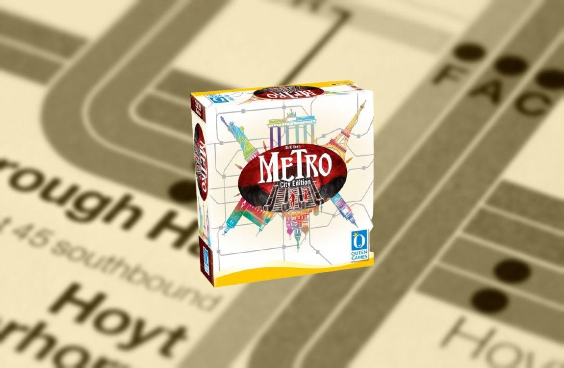 Metro City Edition juego de mesa
