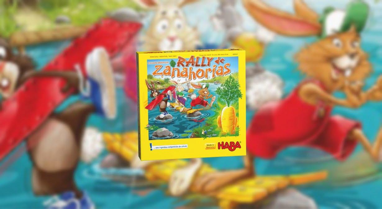 Rally Zanahorias juego de mesa