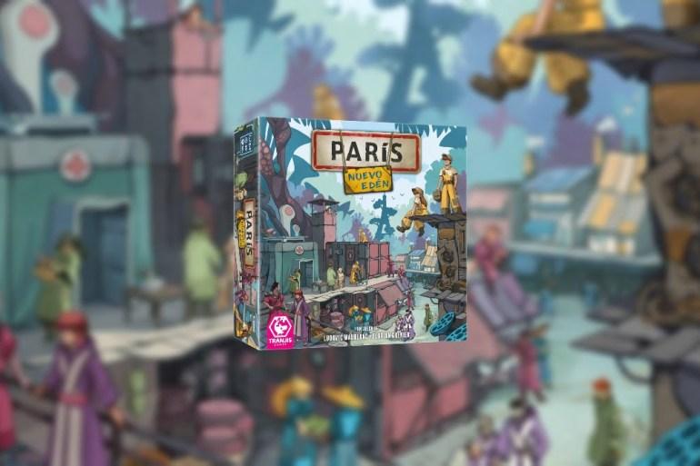 Paris Nuevo Edén juego de mesa