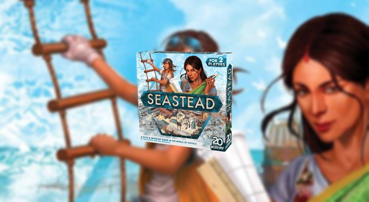 Seastead juego de mesa
