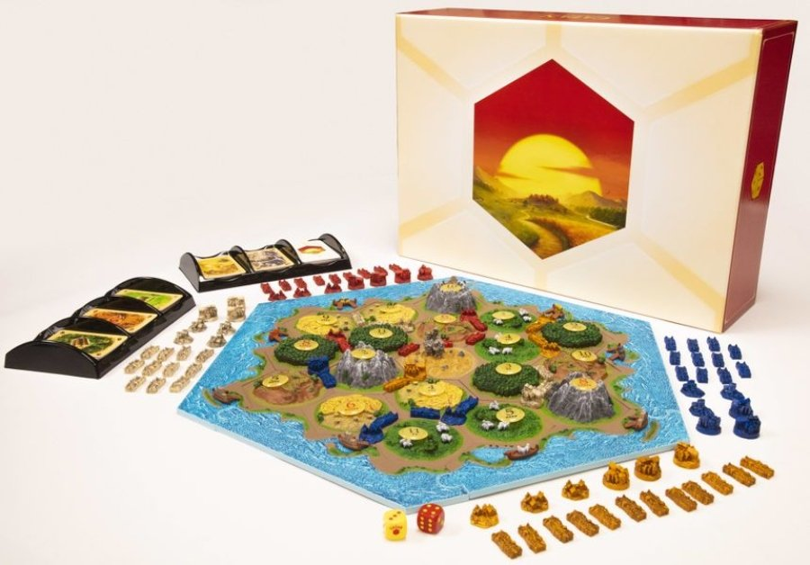 Catan 3D Edition juego de mesa