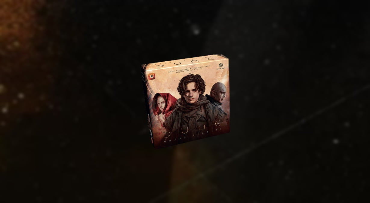 Dune House Secrets juego de mesa