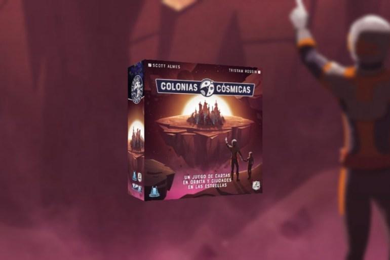 Colonias Cósmicas juego de mesa