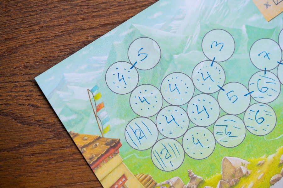 Trek 12 juego de mesa