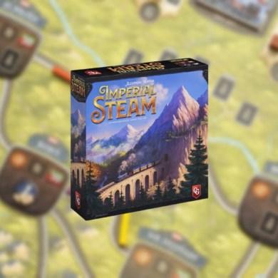 Imperial Steam juego de mesa