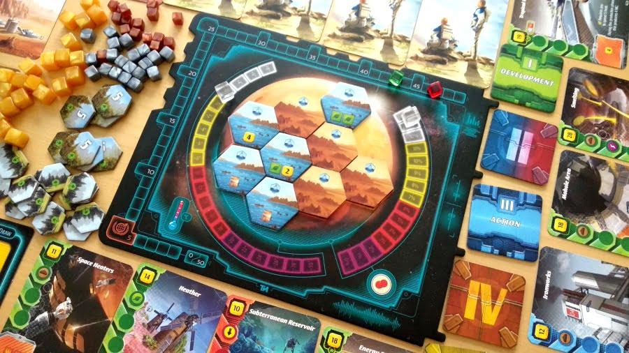 Ares Expedition juego de mesa