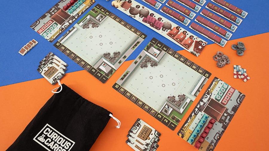 Curious Cargo juego de mesa