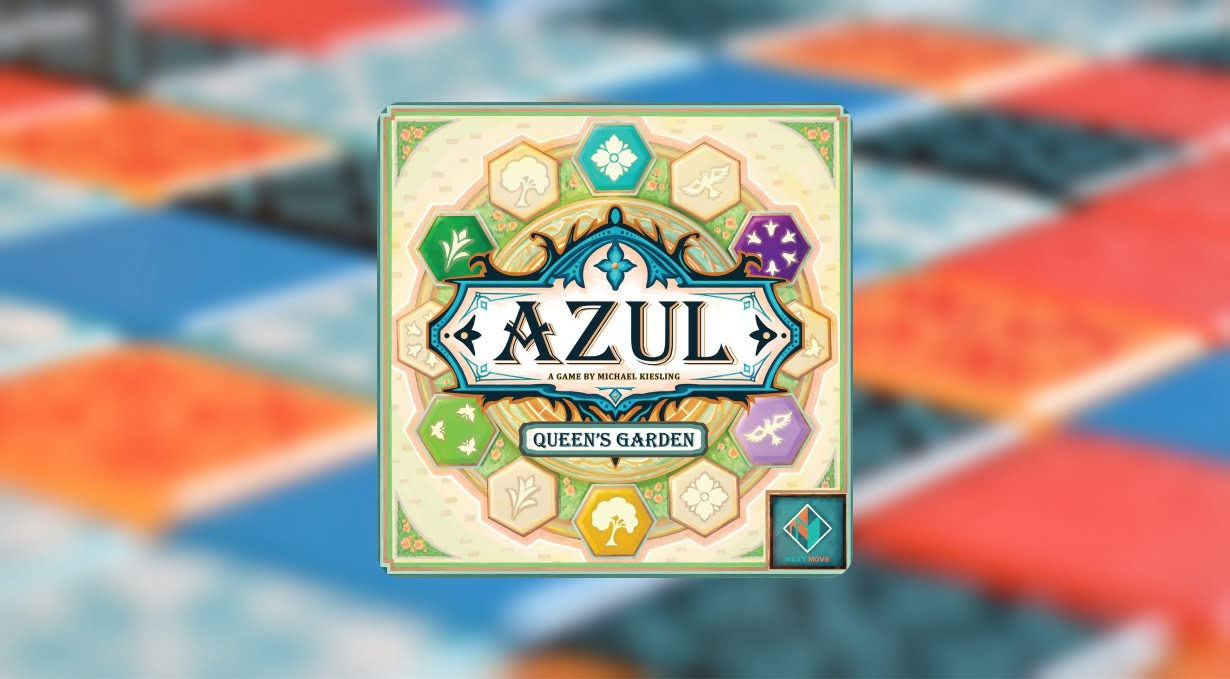 Azul Queen's Garden juego de mesa
