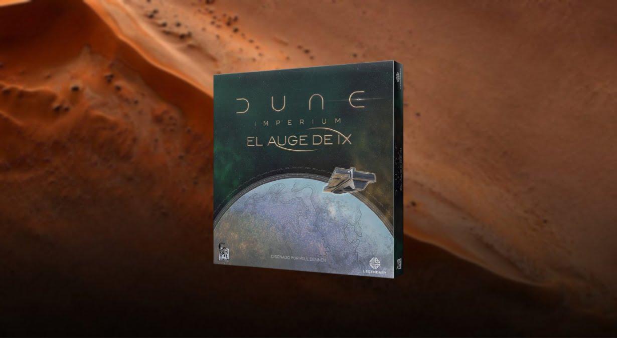 Dune Imperium el Auge de Ix juego de mesa