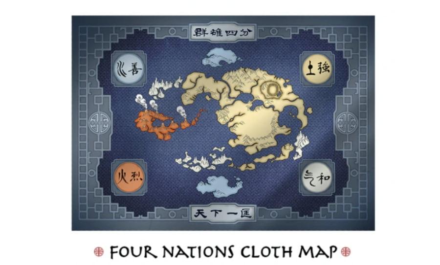 Avatar Legends juego de rol