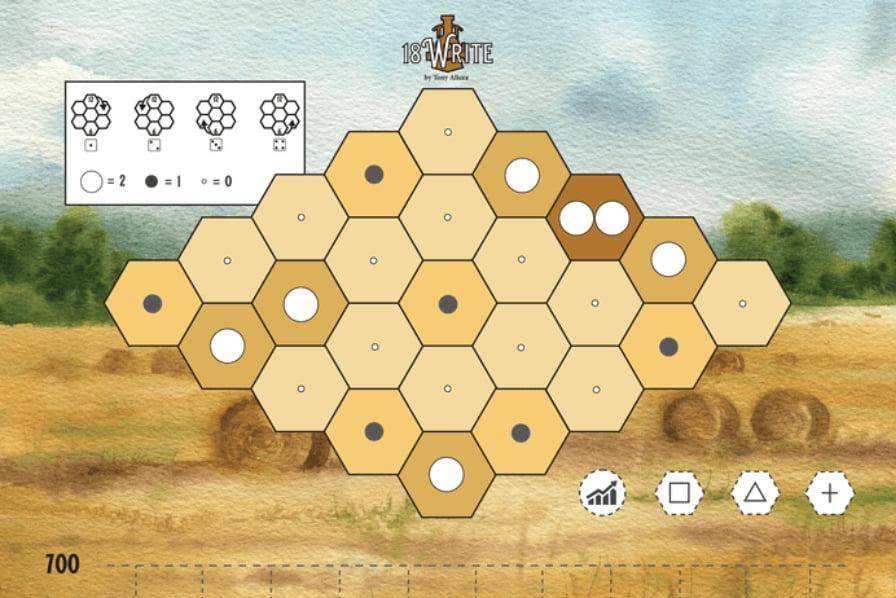18Write juego de mesa