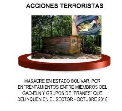La agencia AFP afirma que la imagen corresponde al Catatumbo. FOTO Twitter @IvanDuque.