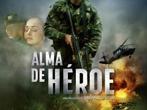 Protagonizada por Jorge Soto y Stephanie Abello, Alma de héroe trata sobre el conflicto armado en el país. Foto: película