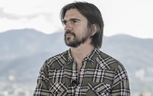"""Preguntado por la posibilidad de ofrecer un nuevo concierto por la paz, Juanes mostró su disposición """"firme"""" a apoyar la causa. FOTO Emanuel Zerbos"""
