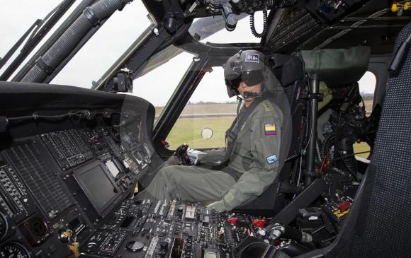 En el país las mujeres habían sido copiloto. María Alejandra es la primera piloto de la aeronave. Fotos Jaime Pérez