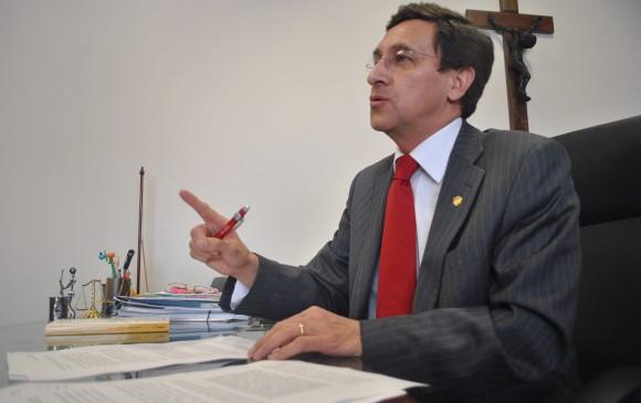 La Sala Plena del Consejo de Estado eligió este martes al magistrado Danilo Rojas Betancourth como presidente de la Corporación, en reemplazo del magistrado Luis Rafael Vergara. FOTO COLPRENSA