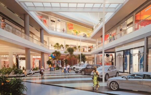 Así luciría el centro comercial Viva Envigado. FOTO CORTESÍA