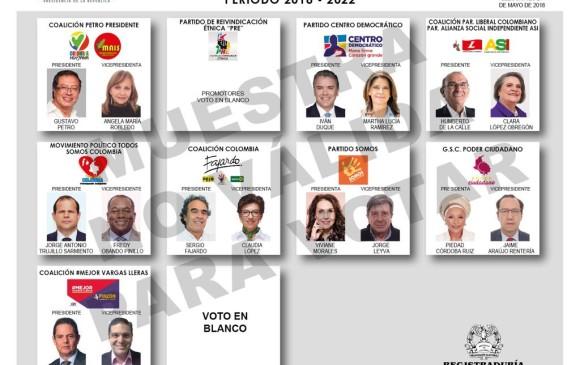 Image result for elecciones presidenciales colombia 2018