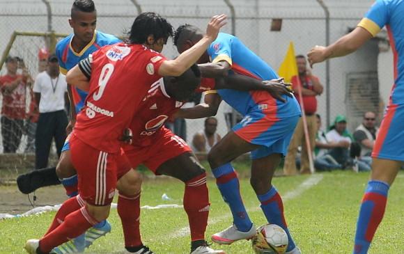 América de Cali igualó 1-1 frente al Universitario de Popayán. FOTO Colprensa