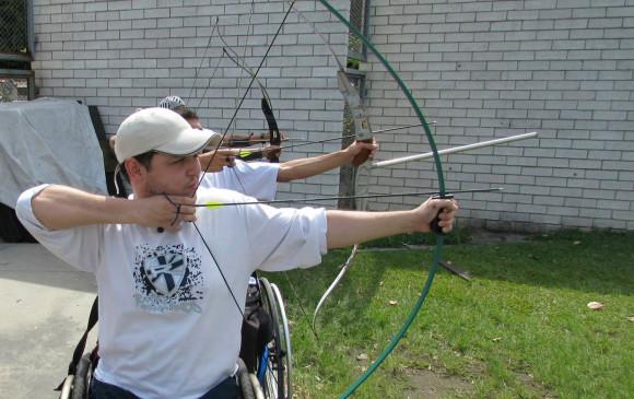 Las competencias en tiro con arco se deben hacer entre deportistas con un tipo y grado de discapacidad similar. FOTO Cortesía