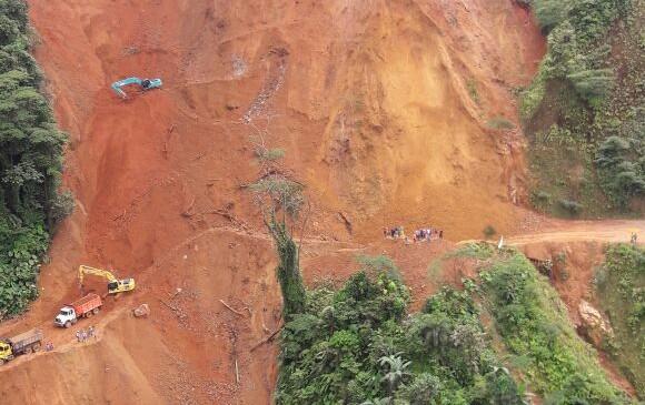 Las lluvias de los últimos días habrían ocasionado esta nueva emergencia. FOTO CORTESÍA CAMILO CARDONA
