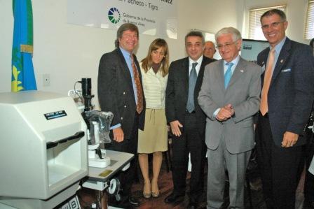 El Rotary Club realizó una importante donación en equipamiento por un monto de U$S 20.000. El acto contó con la presencia del Intendente de Tigre, Dr. Julio Zamora.