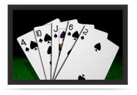 jugada Color poker
